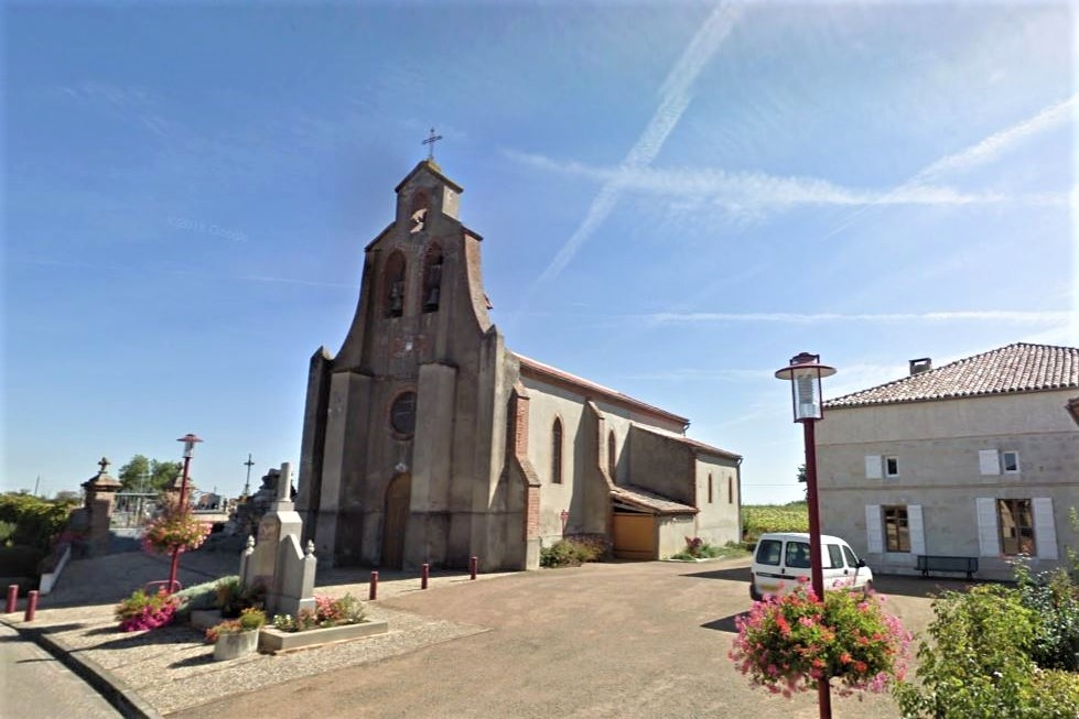 St Arroumex église